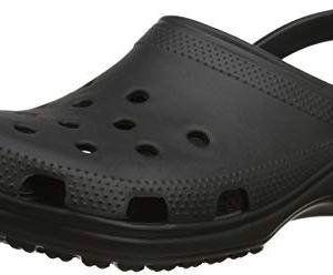 Crocs Classic Clog|Comfortable Slip On Casual Water Shoe, Black, 11 M US Women / 9 M US Men