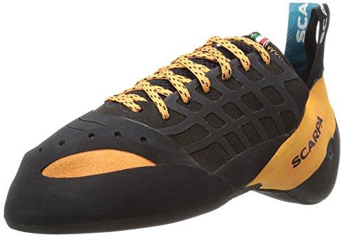 SCARPA Instinct Climbing Shoe, Black/Orange