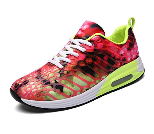 FLARUT Womens Mens Lightweight Walking Trainers Gym Fitness Running Shoes