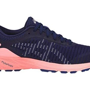 ASICS Women's Dynaflyte 2 Running Shoes, 11M, Indigo Blue/White/Begonia Pink