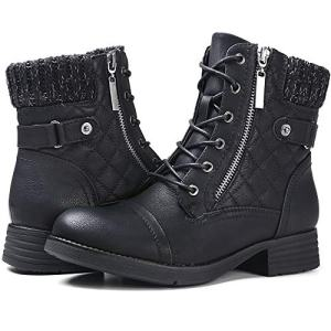 STQ Military Combat Booties for Women Comfort Outdoor Waterproof