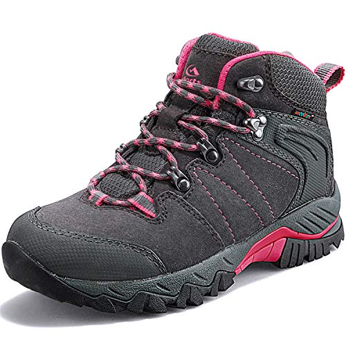 Clorts Women's Classic Hiking Boots Waterproof Suede Leather