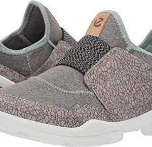 ECCO Women's Biom Street Slip On Sneaker, ice Flower/Wild Dove, 41 M EU (10-10.5 US)