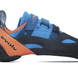 Evolv Shaman Climbing Shoe - Blue/Orange