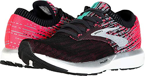Brooks Women's Ricochet Pink/Black/Aqua