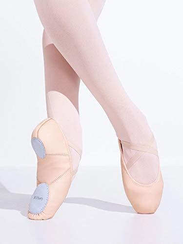 Capezio Women's Juliet Ballet Shoe,Rose Quartz,9 M US