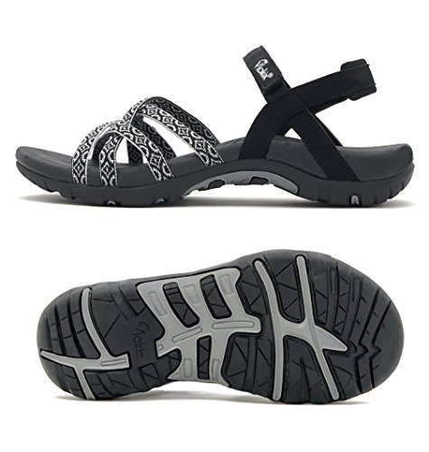 Viakix Walking Sandals Women- Athletic Sport Sandals