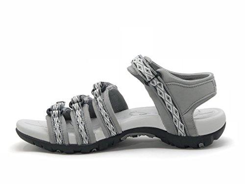Viakix Hiking Sandals Women- Athletic Sport Sandal Viakix Hiking Sandals Women- Athletic Sport Sandal for Outdoors Walking Water.