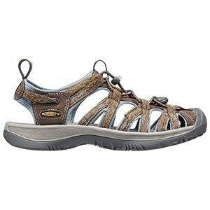 KEEN Women's Whisper Sandal,Cascade/Stone Blue,6.5 M US