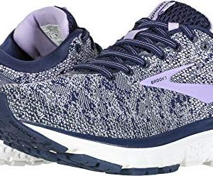 Brooks Women's Ghost 11 Navy/Grey/Purple Rose