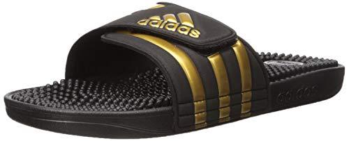 adidas Adissage Slide Sandal, Black, 11 M US