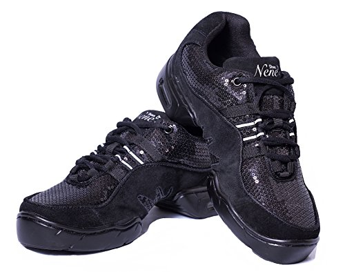Nene's Collection Best Dance and Fitness Shoes Sparkly Series for Women's