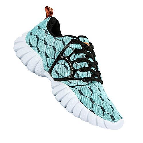 ALEADER Women's Lightweight Mesh Sport Running Shoes Light Blue 8.5 D(M) US