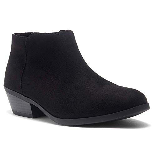 Herstyle Chatter Women's Western Ankle Bootie Closed Toe Casual