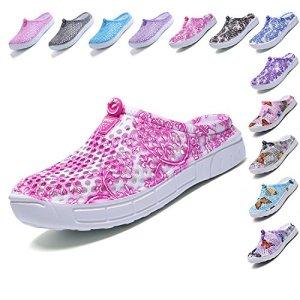 LIGHFOOT Garden Clog Shoes Beach Footwear Water bash