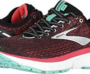 Brooks Women's Ghost 11 Black/Pink/Aqua