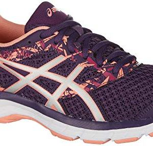 ASICS Gel-Excite 4 Women's Running Shoe, Grape/Silver/Begonia Pink