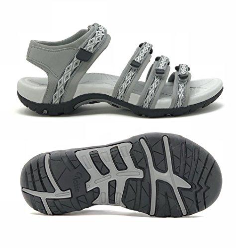 Viakix Hiking Sandals Women- Athletic Sport Sandal