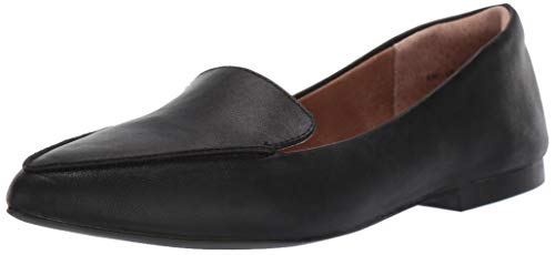 Amazon Essentials Women's Loafer Flat, Black
