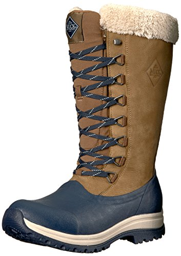 Muck Arctic Après Tall Rubber & Leather Lace-Up Women's