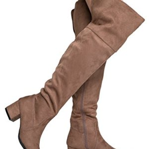 J. Adams Brandy Over The Knee Boot - Trendy Low Block Heel