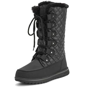 Polar Womens Tall Snow Warm Calf Waterproof Durable Outdoor Winter Rain Boots