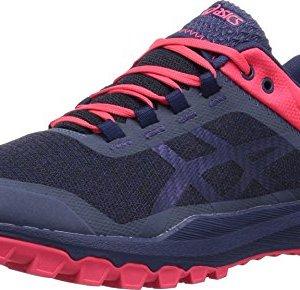 ASICS Womens Gecko XT Trail Running Shoe, Azure/Deep Ocean