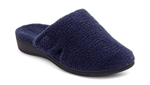 Vionic Women's Indulge Gemma Slipper - Ladies Adjustable Slippers
