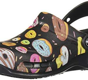 Crocs Bistro Graphic Clog, Black/Multi Donuts