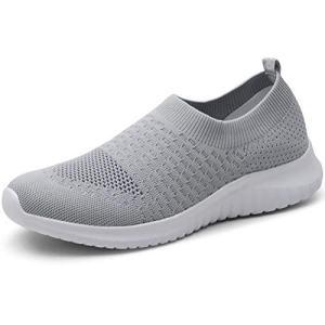 konhill Women's Walking Tennis Shoes - Lightweight Athletic Casual