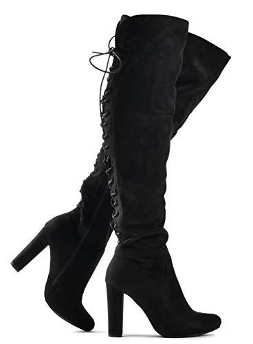 Premier Standard Women's Thigh High Stretch Boot - Trendy High Heel Shoe