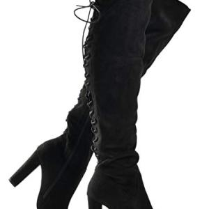 Premier Standard Women's Thigh High Stretch Boot - Trendy High Heel Shoe