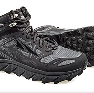 Altra Lone Peak Mid Neo Running Shoes - Women's Black