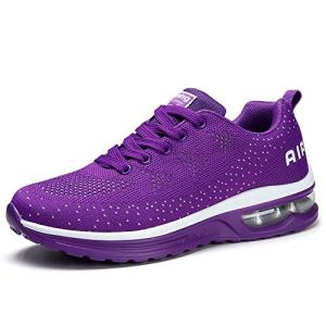 Womens Fashion Lightweight Air Sports Walking Sneakers Breathable Gym