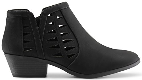 MARCOREPUBLIC Oslo Womens Perforated Cut Out Side