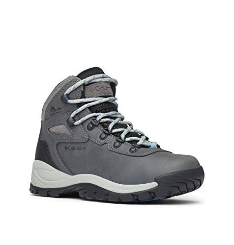 Columbia Women's Newton Ridge Plus Hiking Boot, Quarry/Cool Wave