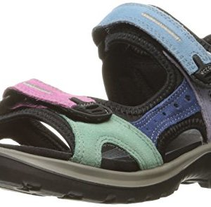ECCO Women's Yucatan Sandal, Multicolor Pastel