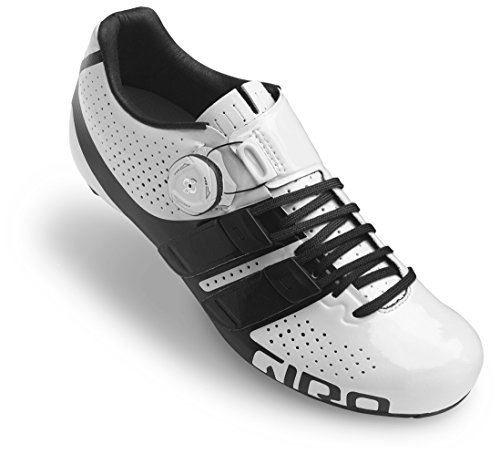 Giro Factress Techlace Cycling Shoe - Women's White/Black 39.5