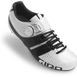 Giro Factress Techlace Cycling Shoe - Women's White/Black 39.5
