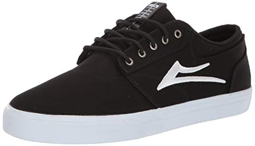 Lakai Footwear Summer 2019 Griffin Black Canvas Size 7 Tennis Shoe, M US