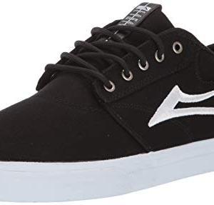 Lakai Footwear Summer 2019 Griffin Black Canvas Size 7 Tennis Shoe, M US