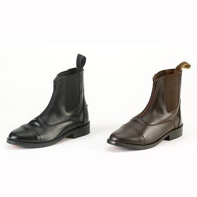 Equistar Synthetic Ladies Zip Paddock Boots