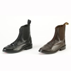 Equistar Synthetic Ladies Zip Paddock Boots