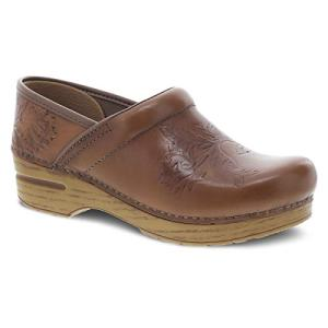 Dansko Women's Embossed Pro Tan Clog