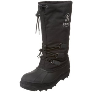 Kamik Men's Canuck Cold Weather Boot,Black