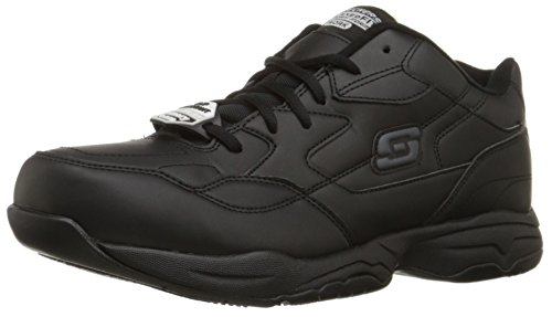 Skechers for Work Men's Felton Shoe, Black