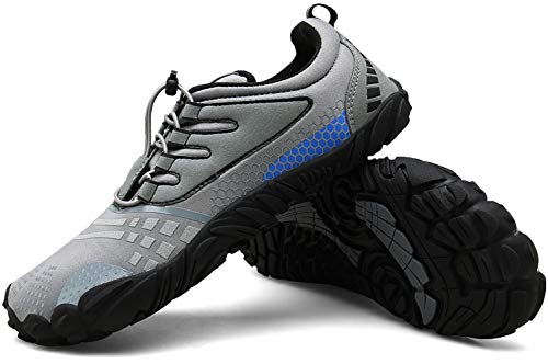 Zcoli Mens Womens Barefoot Running Shoes for Outdoor Trail Fitness