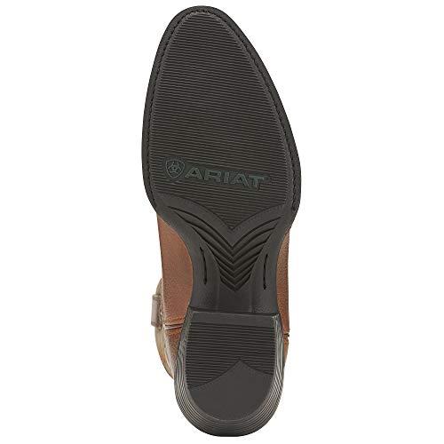 ARIAT Men's Sport R Toe Western Boot Earth ARIAT Men's Sport R Toe Western Boot Earth Size 10 D/Medium Us.