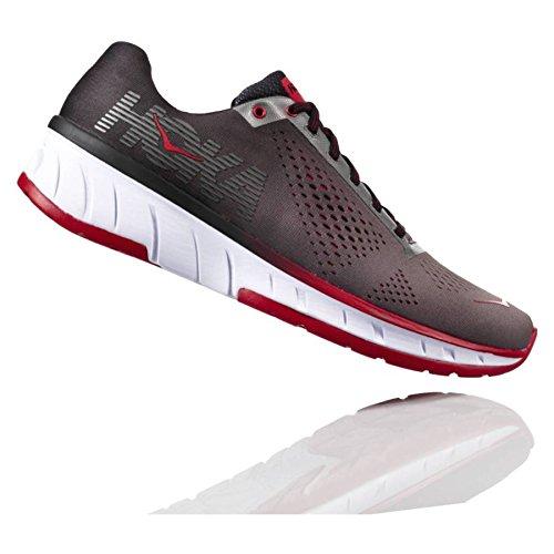 HOKA ONE ONE Mens Cavu Charcoal/Black Running Shoe - 8.5