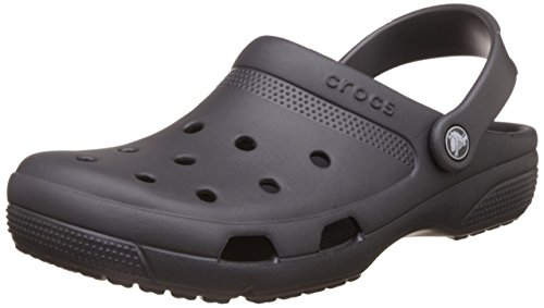 Crocs Coast Clog, Graphite, Men's 12, Women's